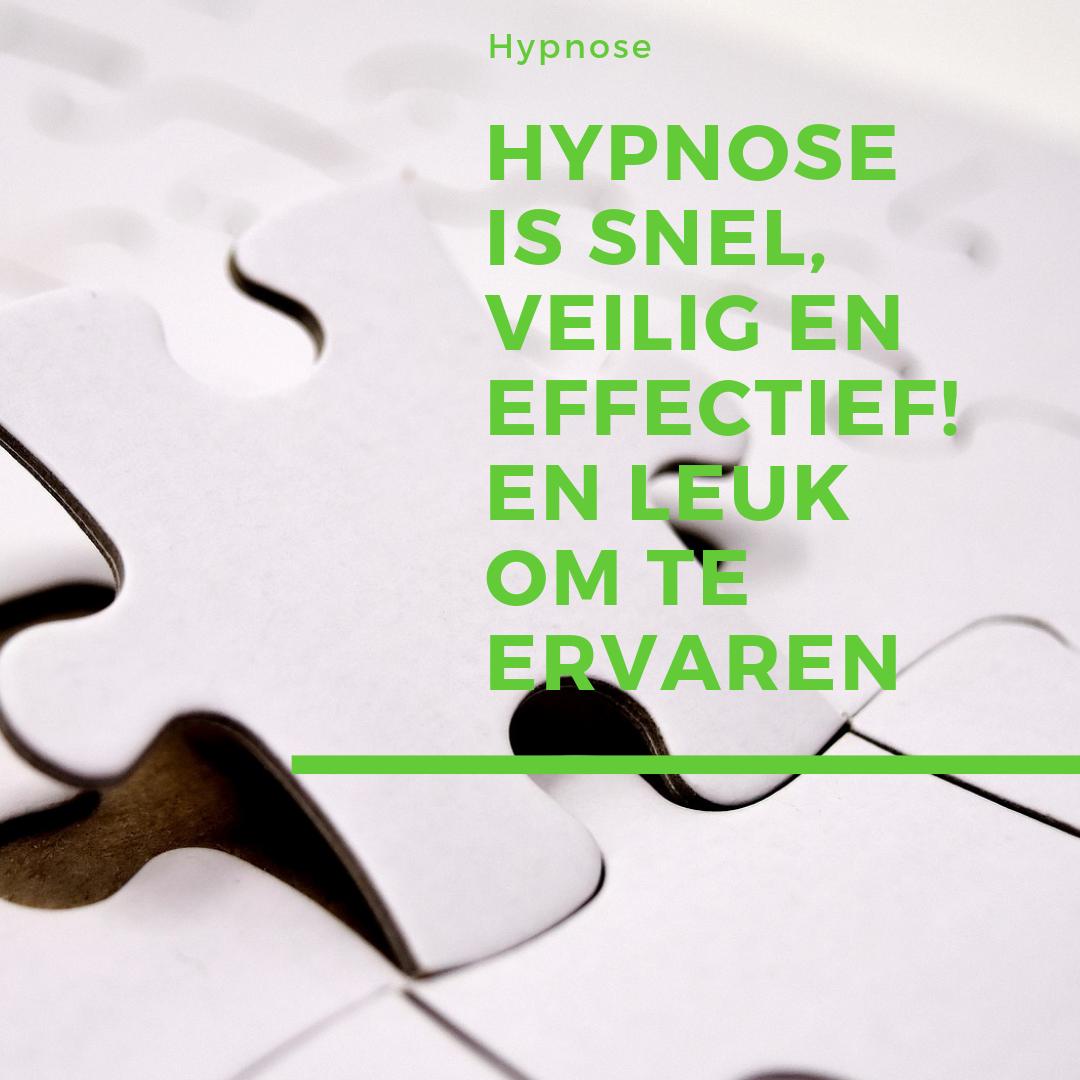 InSightOut Hypnose is veilig en effectief